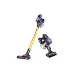 New Dibea D18 Light Cordless Handheld Vacuum Cleaner Large Suction Dust Collector With Electric Brush