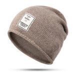 New Winter Warm Earmuffs Knit Hat Outdoor Ski Beanie Cap