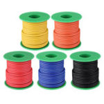 New 10M 14AWG Soft Silicone Wire Cable High Temperature Tinned Copper Line