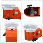 New 110V 550W Electric Pottery Wheel Ceramic Machine 320mm Ceramic Clay Potter Kit