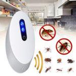 New Ultrasonic Mosquito Dispeller UK Plug Pest Repeller Night