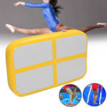 New 39.37×23.62×5.9inch Inflatable Gym Air Track Gymnastics Mat Tumbling Training Exercise Practice Airtrack Pad