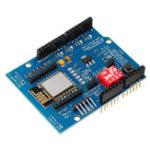 New Wemos® UNO R3 ESP8266 Serial Board WiFi Expansion Board ESP12E Development Board Extended GPIO For Ardruino Uno Mega