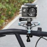 New Bicycle Bike Anti-vibration Camera Mount 15mm-31mm Diameter Tube Fixed Bracket For GoPro Hero Xiaoyi 4k Sport Camera Outdoors Sport DJI