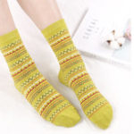 New Women Cotton Ethnic Style Low Cut Sock Athletic Boat Socks