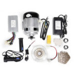 New 48V 500W Electric Tricycle Scooter Brushless Motor Controller Flywheel Chain Conversion Kit