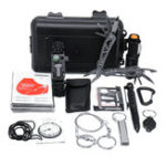 New 12 in 1 SOS Outdoor Emergency Survival Gear Kit Equipment Box For Camping Hiking Safety Tools