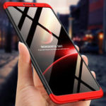 New Bakeey™ 3 in 1 Double Dip 360° Full Hard PC Protective Case For Huawei Honor Note 10