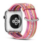 New KALOAD Leather Painted Watch Band Wrist Bracelet Strap Replacement For Apple Series 1/2/3/4