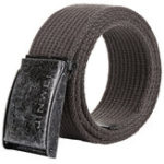 New 125cm AWMN S08 3.8cm Canvas Alloy Buckle Retro Men Women Pants Belt Military Tactical Belt