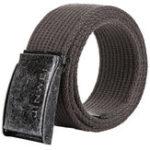 New 125cm AWMN S08 3.8cm Canvas Alloy Buckle Retro Men Women Pants Belt Military Tactical Belt