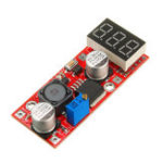 New LM2596 DC-DC Adjustable Voltage Regulator Module with Voltage Meter Display