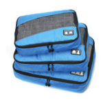 New 6 Pcs Storage Bag Waterproof Travel Underwear Clothes Organizer Toiletries Bag