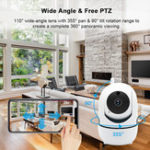 New 1080P Outdoor Wireless WIFI IR Cut Security IP Camera Night Vision Intelligent HD Surveillance Camera
