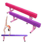 New 1.8M/6FT High Gymnastics Balance Beam Gym Exercise Sports Training Airtrack Rolls Bar Tools Equipment