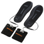 New Electric Heated Shoe Insole Rechargeable Battery Powered Foot Heater Sock Winter Warmer Pads