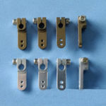 New 4mm/4.76mm CNC Metal Servo Arm Clamped-in Style For RC Models