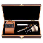 New 440 Set Men Manual Shaver Kit Steel Cut Straight Razor