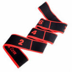 New Women Men Latin Dance Elastic Stretch Belt Exercise Pull Strap Body Building Sports Fitness Yoga Resistance Bands
