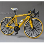 New 1:10 Diecast Bicycle Model Toys Racing Cycle Cross Mountain Bike Building Gift Decor