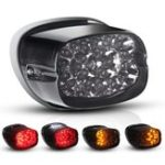 New Motorcycle LED Tail Light Integrated Turn Signal For Harley Davidson XL 883 1200 Fatboy Sportster Dyna Road King Glides
