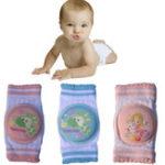 New Baby Crawling Knee Pad Anti-collision Breathable Leg Elbow Protector Sponge Mesh Baby Knee Socks