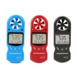 New KT-300 Mini Multipurpose Anemometer Digital Anemometer LCD  Wind Speed Temperature Humidity 3 in 1  Wind Speed Meter With Calibration Function