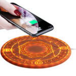 New Bakeey 10W Magic Array Wireless Charger Fast Charging Pad For iPhoneX S9 Note9 Huawei P20 pro