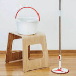 New XIAOMI YIJIE 4PCS Rotating Mop Sets Bendable & Design Handheld Floor Mopping Waterwheel Cleaning System