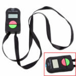 New Digital Tally Counter Black ABS LCD Display Electronic Digit Manual Clicker Gym Tool