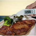 New Thermometer Folding Barbecue Food Barbecue Electronic Thermometer BBQ Kitchen Probe Food Thermometer