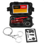 New SOS Emergency Survival Equipment Kit EDC Sports Tactical Hiking Camping Tools