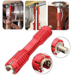 New Multifunction AntiSlip Faucet Sink Installer Water Pipe Socket Wrench Spanner Bathroom Installation And Repair Tool