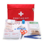 New Emergency First Aid Kit 79 Piece Survival Supplies Bag for Car Travel Home Emergency Box