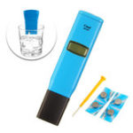New Wattson TDS98303 1us/cm Resolution Conductivity Test Pen Conductivity PH Meter Water Detecting Instrument