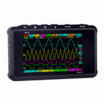 New MINI DS213 Digital Storage Oscilloscope Portable 15MHz Bandwidth 100MSa/s  Sampling Rate 2 Analog Channels+2 Digital Channels 3 Inch Screen With Logic Trigger