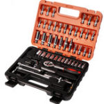 New Auto Maintenance Repair Tool Set of 53 Household Combination Wrench Sleeve Set