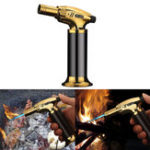 New IPRee® Inflatable Lighter Windproof Camping BBQ Welding Torch Flame Portable Ignitor Starter