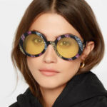 New Men Women UV400 Round Frame Sunglasses Non-polarized Goggle
