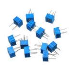 New 39Pcs 100R-1M Each 1 3362 Potentiometer Package 3362P Adjustable Resistor