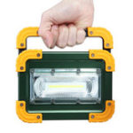 New 30W LED COB Portable Camping Light USB Rechargeable Outdoor Flood Lantern Spot Work Lamp