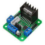 New L298N Double H Bridge Motor Driver Board Stepper Motor L298 DC Motor Driver Module Green Board for Arduino