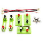 New Funny Electric Circuit Kits Children School Science Toy Montessori Learning Physical Experiment Mode