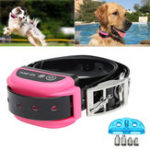 New Pink Wireless Pet Dog Electronic Fence Rechargeable Containment System Training Collar Neck Line