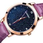 New LONGBO 5052 Women Sky Leather Quartz Watch