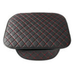 New Leather Car Front Seat Cushion Covers Breathable Chair Protector Seat Pad Mat with Storage Bag