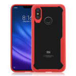 New Bakeey™ Transparent Shockproof Hard Acrylic Back Cover Protective Case for Xiaomi Mi8 Mi 8