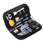 New 112pcs Watch Repair Tools Kit With Carrying Bag
