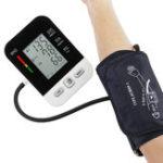 New Digital LCD Arm Blood Pressure Pulse Monitor Health Care Upper Sphygmomanomet