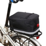 New BIKIGHT 6L Bicycle Tail Bag Sport Waterproof Bike Seat Pouch Cycling Rear Basket
